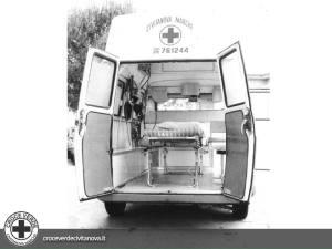 ambulanza fiat 238e| croce verde civitanova marche