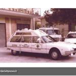 ambulanza citroen cx tetto alto | croce verde civitanova marche