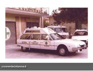 ambulanza citroen cx tetto alto | croce verde civitanova marche