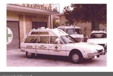 ambulanza citroen cx tetto alto   croce verde civitanova marche