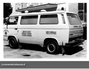 ambulanza volkswagen t3| croce verde civitanova marche