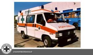 ambulanza fiat ducato  croce verde civitanova marche