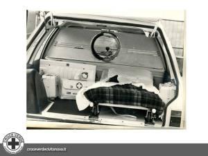 ambulanza opel rekord | croce verde civitanova marche