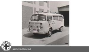 ambulanza volkswagen t2 modello civitanova238 | croce verde civitanova marche