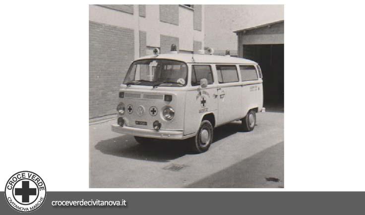 <strong>1977</strong> | VOLKSWAGEN T2 | Modello CIVITANOVA