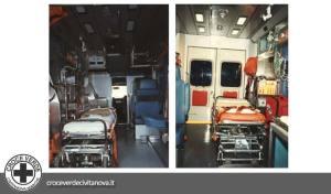 ambulanza volkswagen t4 | croce verde civitanova marche