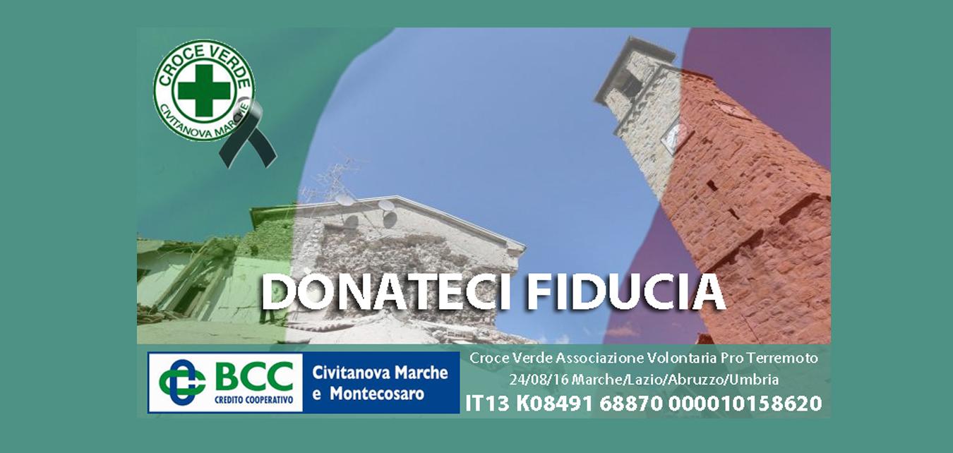 <strong>RACCOLTA FONDI PRO-TERREMOTO</strong>